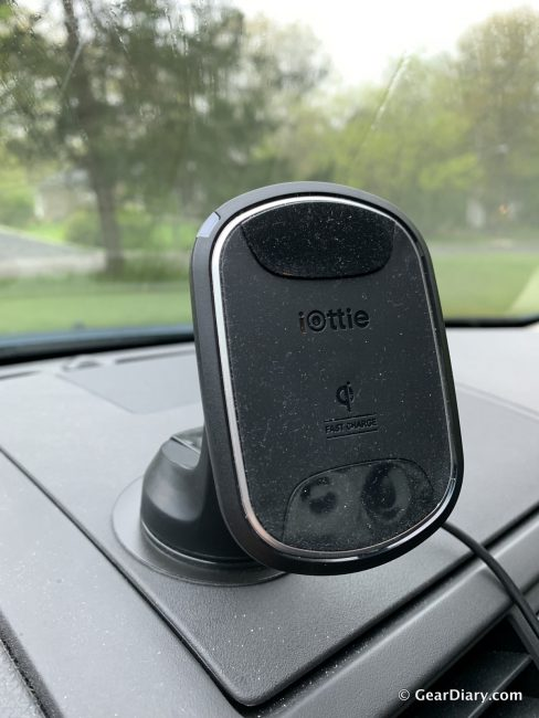 GearDiary The iOttie iTap 2 Wireless Charging Car Mount Lives up to the Hype