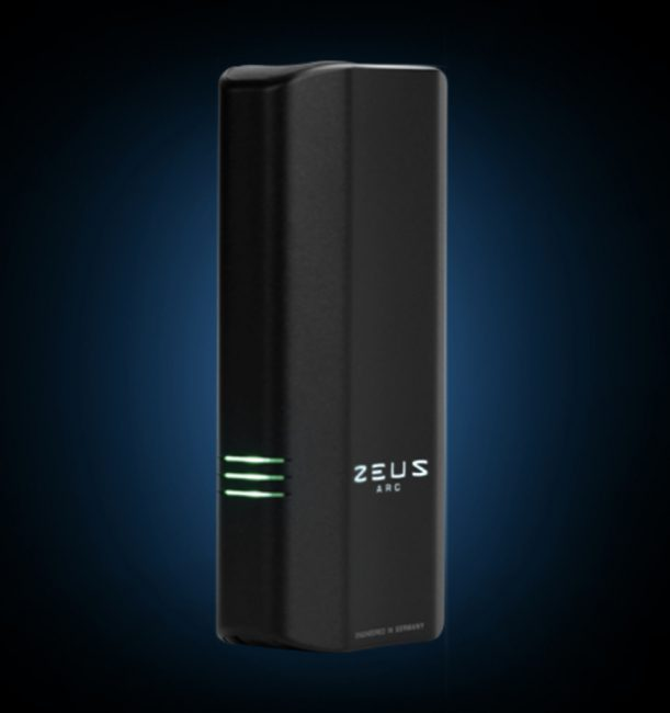 ZEUS ARC GT High-Performance Dry Herb Vape Is a Compact