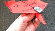 GearDiary Bring Your Paper Airplane into the 21st Century with the PowerUp 3.0 Smartphone Controlled Paper Airplane Kit