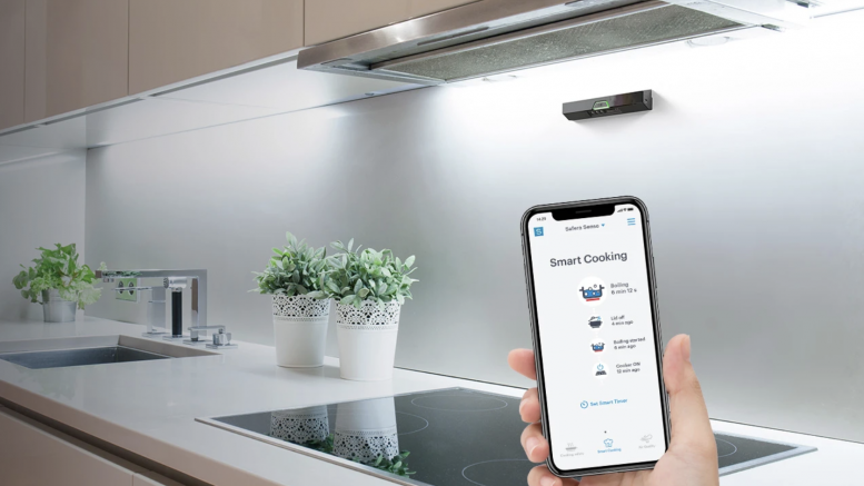 GearDiary Safera Sense Smart Cooking Sensor Can Help Distracted Cooks