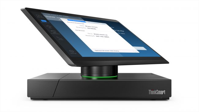Lenovo Takes Video Conferences to a Whole New Level with ThinkSmart Hub 500
