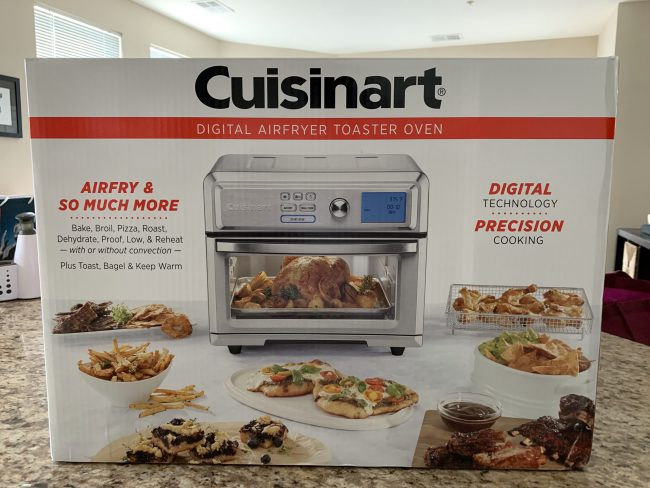 GearDiary Cuisinart's Air Fryer Toaster Oven: Finger Foods Made a Bit Healthier