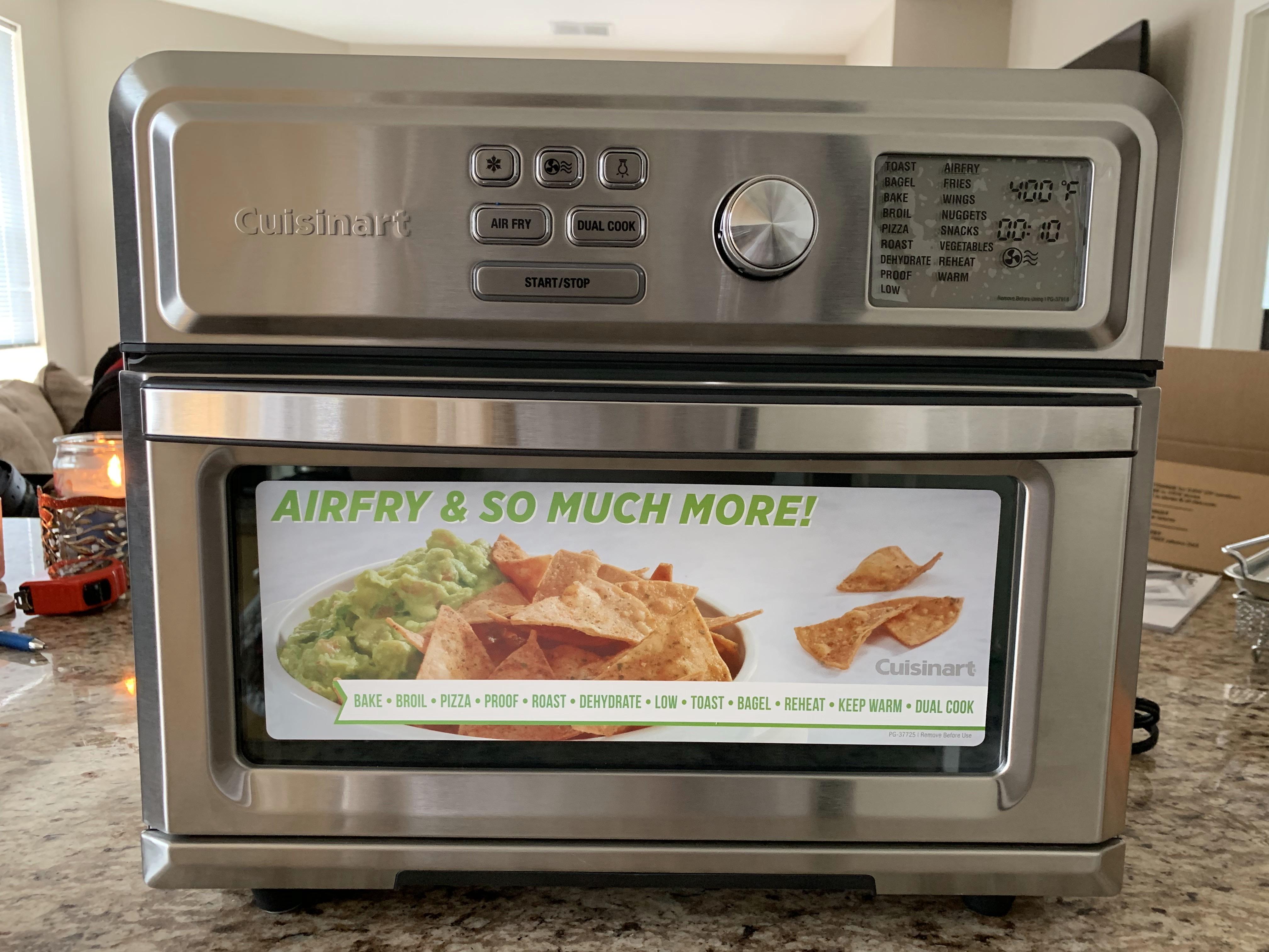 Cuisinart S Air Fryer Toaster Oven Finger Foods Made A Bit Healthier