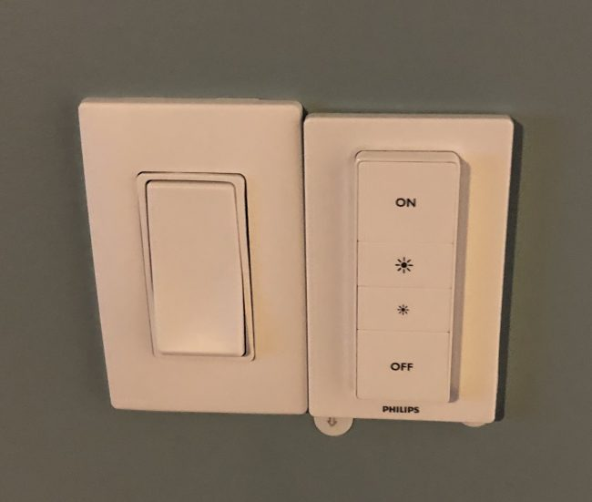 Lutron Aurora Is a Dimmer Switch for Hue Lighting with a Little Something Extra