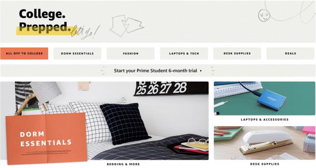 GearDiary Amazon Wants to Help Send You Back to School