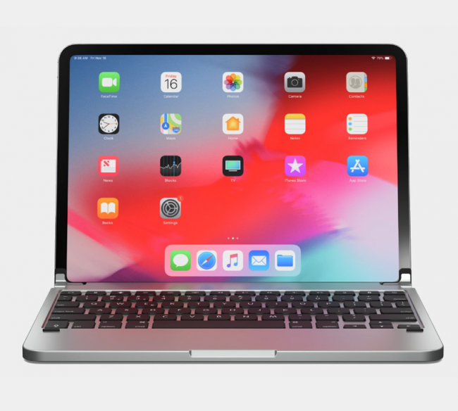 """One More Step Toward iPad-As-Laptop Thanks to the Brydge Pro Keyboard for the 11"""" iPad Pro"""