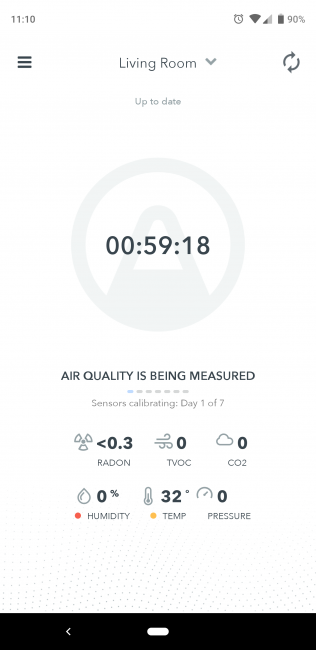 Airthings Wave Plus Is a Sleek Indoor Air Quality Monitor for Only the Data Junkies