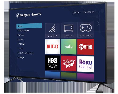 GearDiary Westinghouse Announces New Roku TV Line