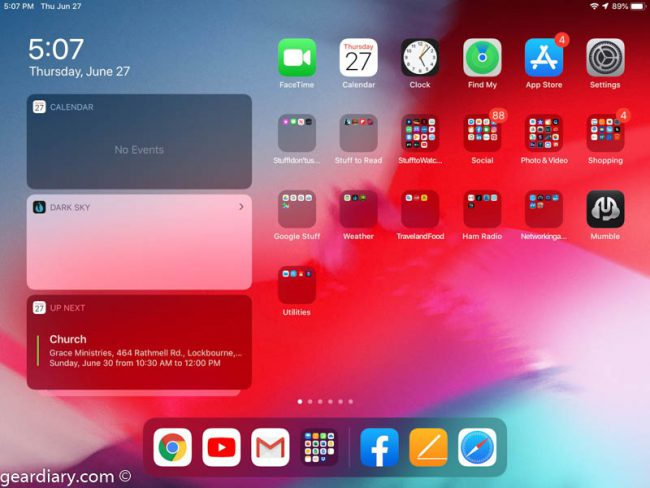 GearDiary Preview of iPad OS Beta: Are the Changes Big Enough to Matter?