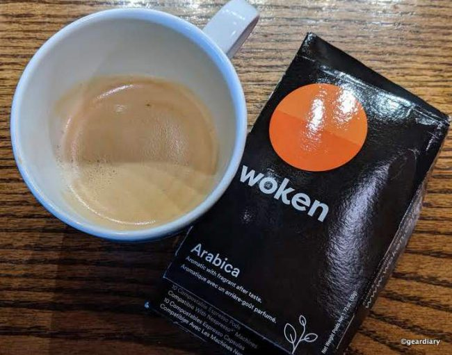 Woken Compostable Espresso Pods Remove the Single-Serve-Coffee-Making Guilt