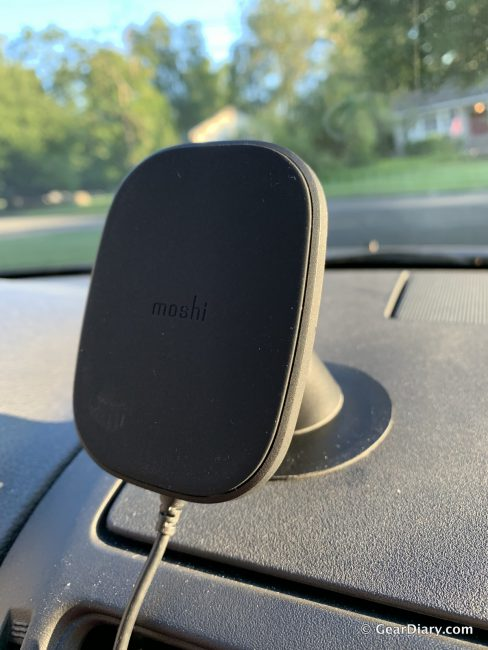 Moshi SnapTo Magnetic Car Mount with Wireless Charging Is My Favorite Car Accessory