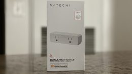 GearDiary Satechi Gets Smart with HomeKit-Enabled Dual Outlet
