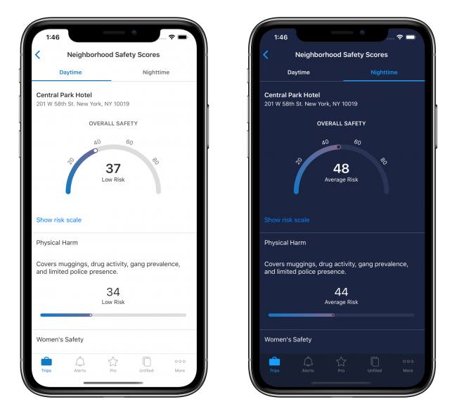 TripIt's Latest Update Is iOS 13 Friendly and Adds Neighborhood Safety Scores