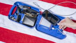 Beachsafe's Portable Safe Allows You to Stash Your Things Safely Poolside