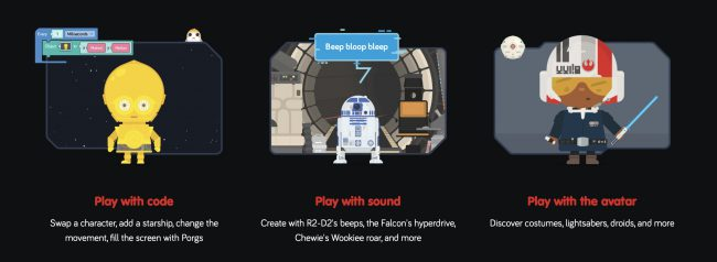 Use The Force ... to Learn to Code!