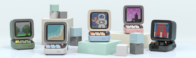 Divoom Ditoo Is the Cute Retro Game Clock and Speaker That You Didn't Know You Wanted