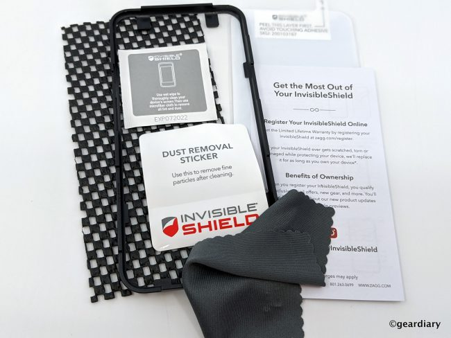Invisible Shield Glass Elite VisionGuard+ for the Google Pixel 4 XL: Protect and Filter