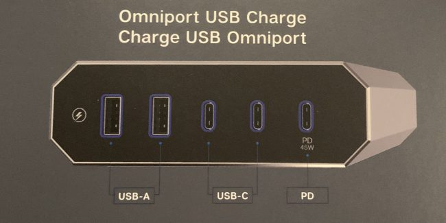 Austere's Omniport USB Provides Rapid Charge