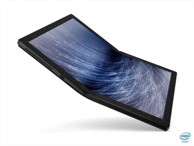 Lenovo Goes for Innovation and Speed with a Folding Screen Thinkpad and a Ducati Notebook