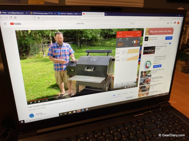 EVOO Gaming Laptop from Walmart Performs Well for a Mobile, Affordable Laptop