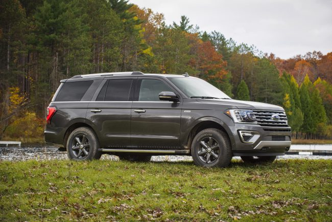 Ford Expedition Limited Adds FX4 Trim for Off-Roading in Style