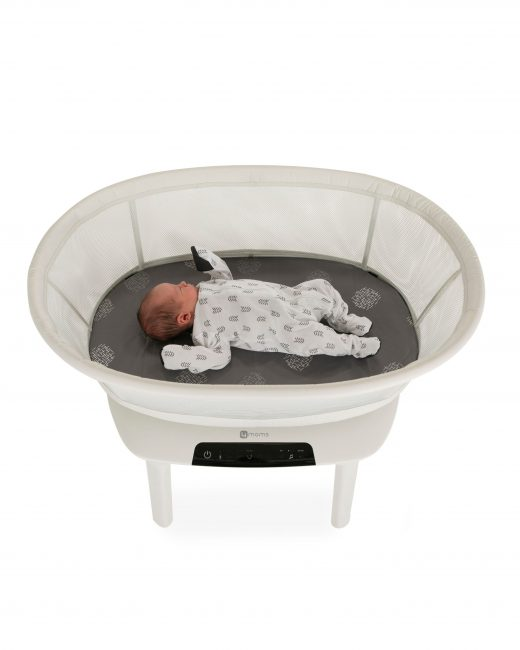 4moms® Origami® Bassinet in Black and Silver | buybuy BABY | 650x520