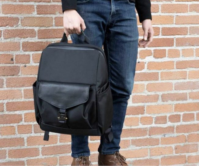 Waterfield Mezzo Laptop Backpack Brings Old World Style to Modern Technology