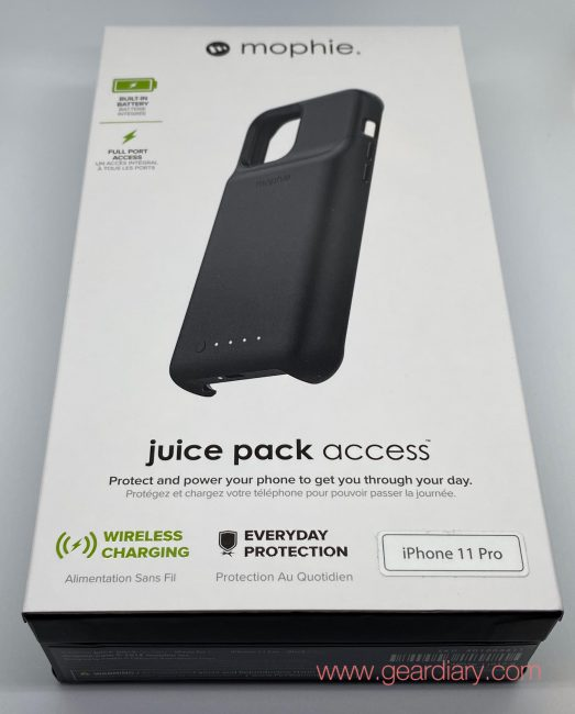 Mophie Juice Pack Access For Iphone 11 Pro Review Geardiary The mophie powerstation hub offers up so many features, but its battery capacity can't quite live up to them. mophie juice pack access for iphone 11