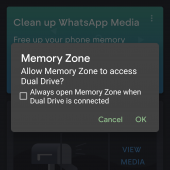 SanDisk Memory Zone software