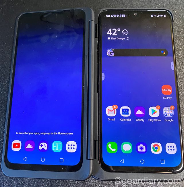 The LG G8X ThinQ Dual Screen Is Something Special