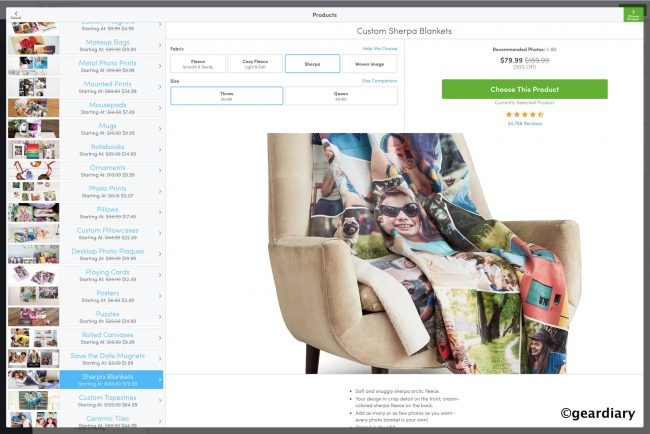 On Mother's Day, a Collage.com Sherpa Photo Blanket Brings the Whole Family Together While Apart