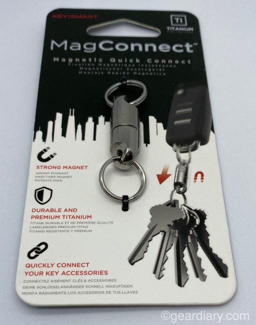 The KeySmart MagConnect Magnetic Keychain Connector Is Smart!