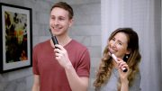 Lumio UV Self-Cleaning Sonic Toothbrush: Clean Your Teeth and Then Clean Your Brush Head
