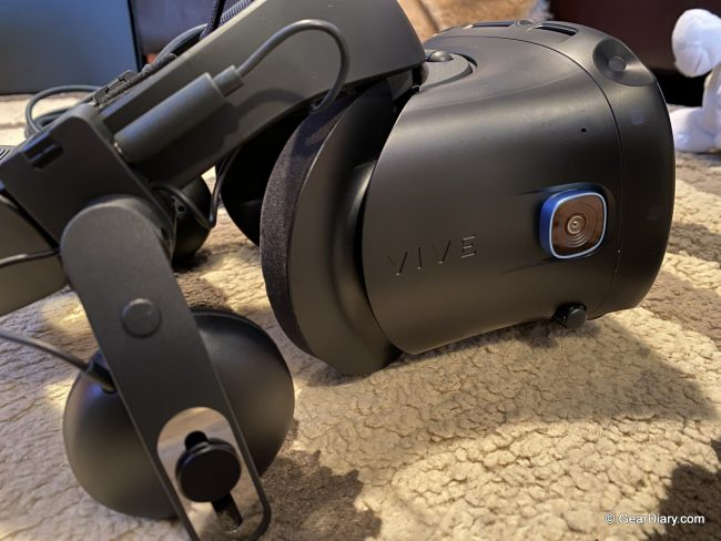 HTC Vive Cosmos Elite Virtual Reality Headset Makes for a Great Escape