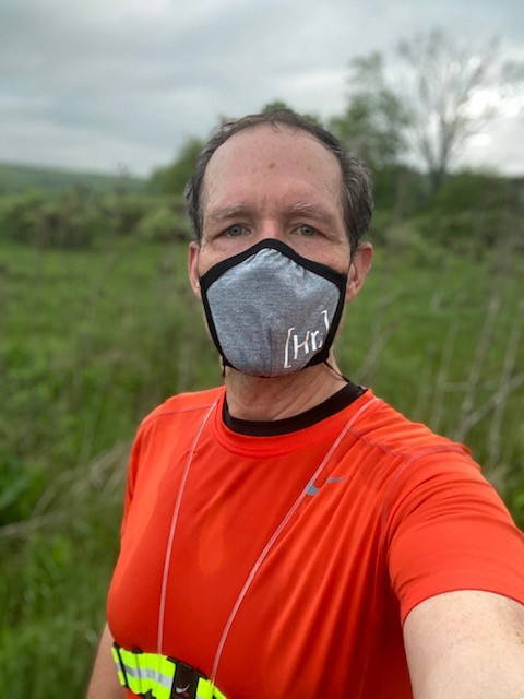 Happily Running Makes Great Masks for Running ... and for Life!