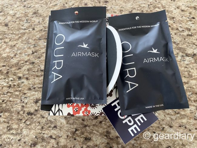 Oura's Black Masks Have Arrived, and They Support a Great Cause