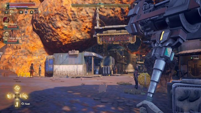 The Outer Worlds for Nintendo Switch Makes a Hot Mess of a Great Game