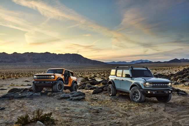 The Best of the 90s Returns with the New Ford Bronco!