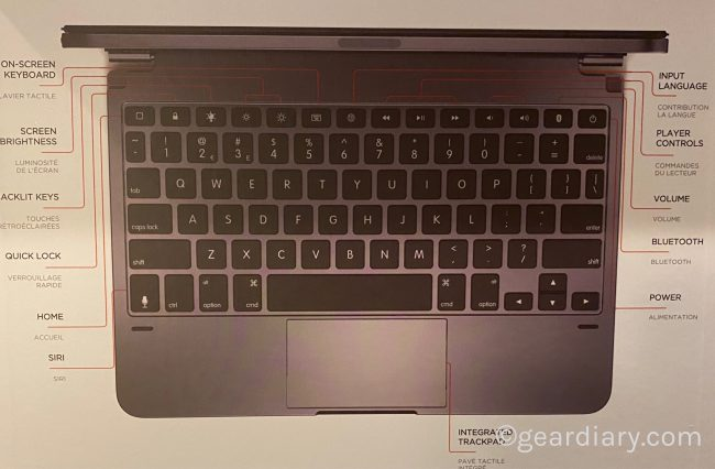 Brydge Pro+ Wireless Keyboard with Trackpad Is Ready to Take Your iPad Pro to New Heights