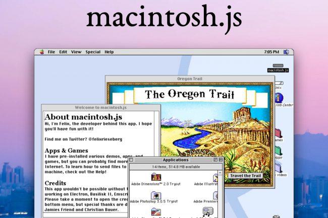 Run Mac OS8 as an App on Your Modern Mac or PC!
