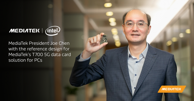 MediaTek and Intel Take Computers to the 5G Future with Their MediaTek T700 5G Chips
