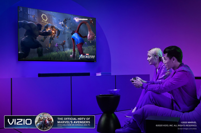 VIZIO Partners with Square Enix to Become the Official HDTV and Soundbar for Marvel's Avengers