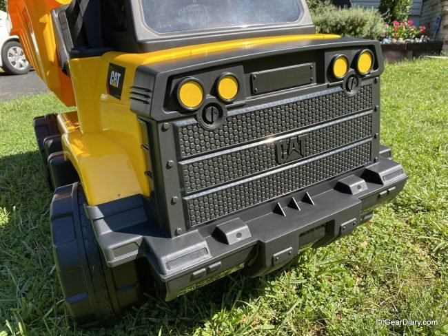 Kid Trax CAT Mining Dump Truck Electric Ride-On Is a Kids' Dream Come True