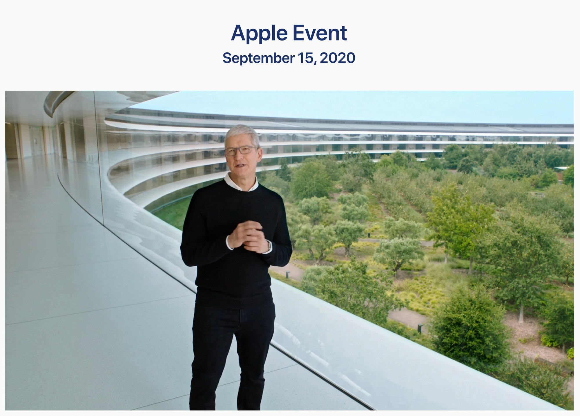 Takeaways From Apple S Annual September Event