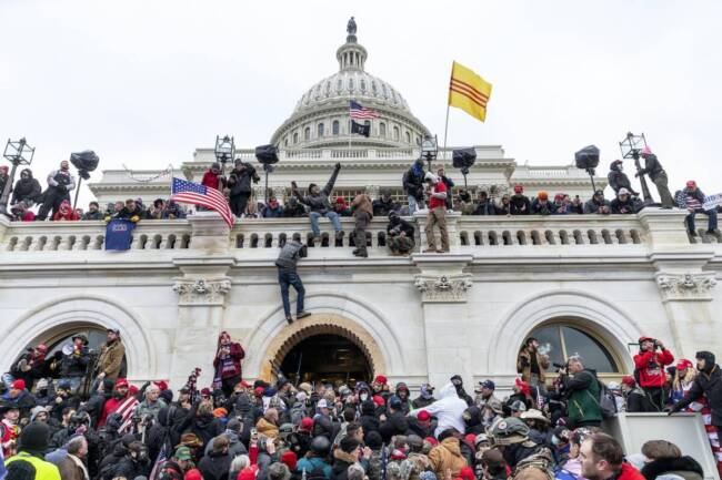 Protesters seen all over US Capitol