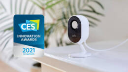 Arlo Essential Indoor Camera and Touchless Video Doorbell Make Their Debut
