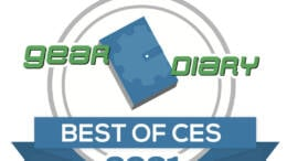Gear Diary Best of CES 2021 Award