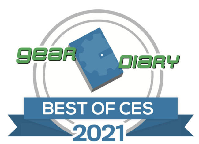 Gear Diary Best of CES 2021 Award