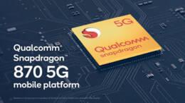 Snapdragon 870 5G Mobile Platform