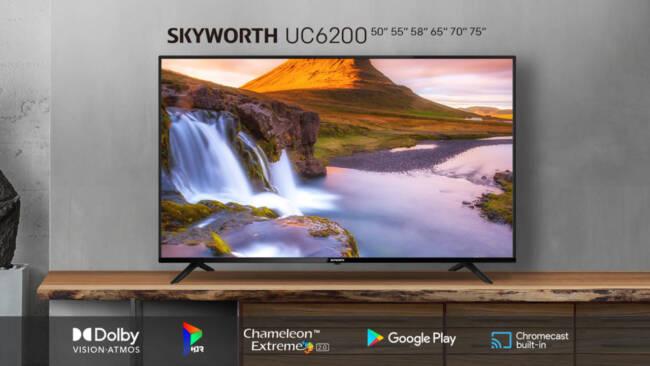 SKYWORTH Announces Five New Series of TVs